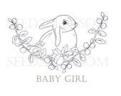 Baby Girl - digital stamp_002