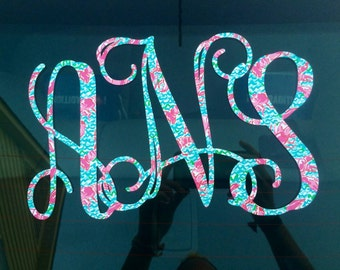Lilly Pulitzer Vinyl Decal