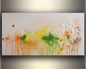 "30"" Abstract painting Original Painting Textured Painting Modern Art ORIGINAL Art painting acrylic painting Abstract painting Spring Forest"