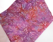 Hoffman Bali Batik Cotton Fabric Fuchsia Butterfly Flowers Fat Quarter