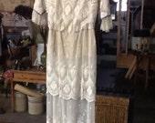 Edwardian/Victorian Lace Dress