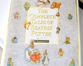The complete Tales of Beatrix Potter, Vintage children's hardcover book with all 23 original childrens stories, colour illustrations