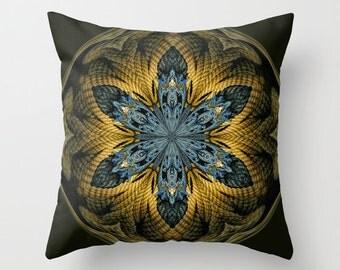 Nautical Star Orb Photo Throw Pillow, Photo Pillow, Throw Pillow, Abstract Art, Digital Art