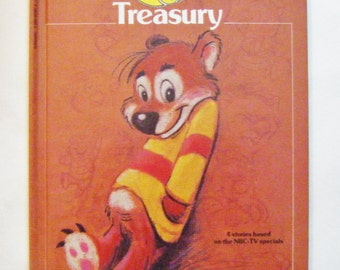 "1986 Phil Meniez's ""Kissyfur Treasury"" Hardcover Book Based on Four NBC Specials"