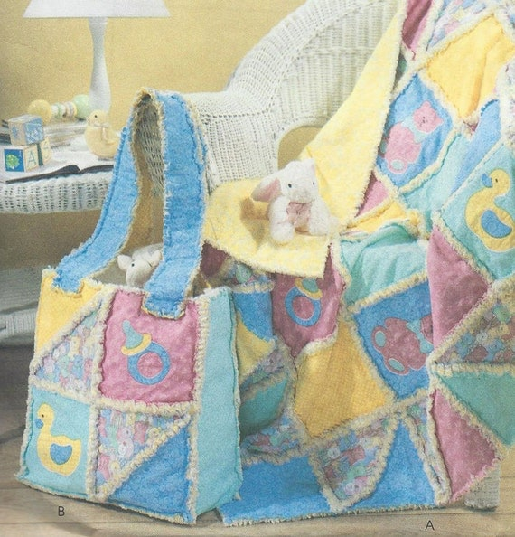 Baby Quilt Patterns Mccalls : McCall s 4255 Craft Baby Sewing Pattern Uncut Factory