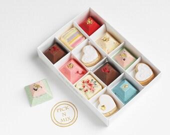 Pick 'N' Mix Belgian Chocolates and cookies gift box