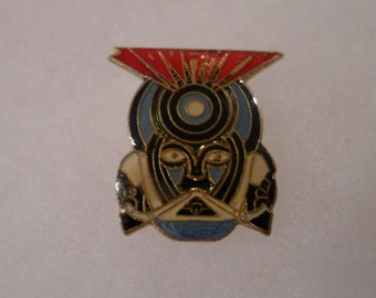 Vintage JOURNEY pin Metal Merchandise concert arena hard rock frontiers after the fall live music band