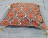 Decorative Fabric Pillow,Cushion Covers,kilim design pillow,,Turkish fabric,ottoman
