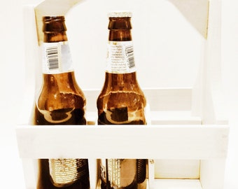 Beer Caddy Carrier With Bottle Opener