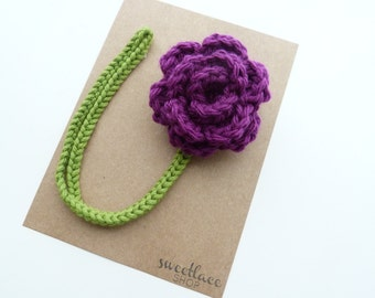 Berry Pacifier Clip --Crochet Flower pacifier clip--Baby Girl accessories--MAM--Sweetlace Shop