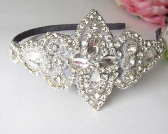 Rhinestone Headband / Crystal Headband