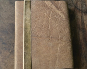 Leather Bound Planner Lined Pages Hand Made to Order Journal Personal Diary (432)