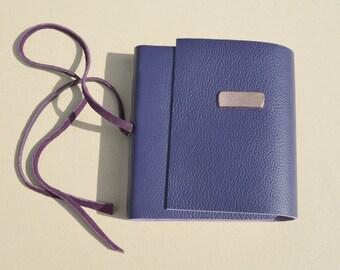 Custom Order Leather Journal Bound Handmade Pocket Journal Diary Planner (436B)
