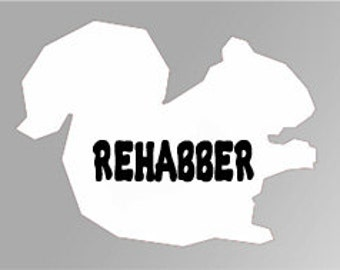 Squirrel Rehabber Decal