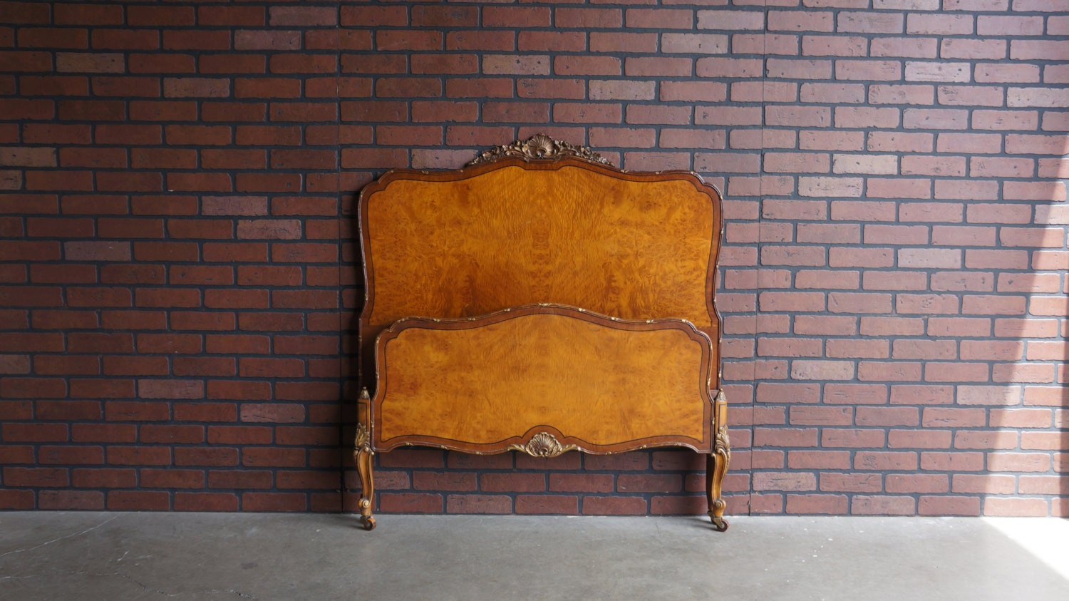 Antique Twin Bed Frame Twin Bed French Provincial Bed