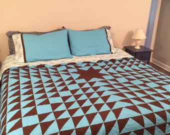 Customizable Star Burst King Size Quilt