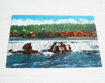 Vintage Willamette Falls Oregon Postcards