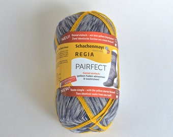 Sockwool regia, Edition Pairfect II, 100 grams, colour 7120