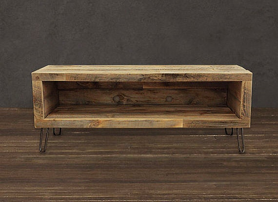 Reclaimed Wood Media Console / TV Stand (36 - Reclaimed Wood Tv Console Roselawnlutheran