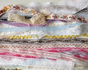 20 lengths lace ribbon trim