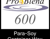ProBlend 600 Para-Soy Container Wax for Candle Making - 10 lbs.