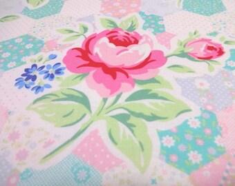 Japanese Fabric LECIEN Flower Sugar Patchwork Pastel  FQ