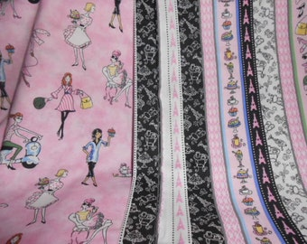 One Yard Each------ Of Matching Fabric