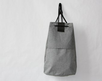 Drawstring backpack FANT/grey