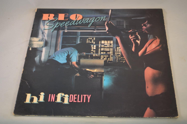 vintage record reo speedwagon hi infidelity album fe 36844. Black Bedroom Furniture Sets. Home Design Ideas