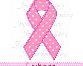 Instant Download Awareness Ribbon Applique Machine Embroidery Design NO:1763