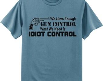 Mens T-shirt / Funny Gun Right Tee shirt