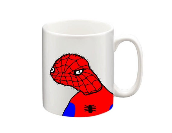 Funny Meme Coffee Mugs : Funny spoderman mug coffee tea cup
