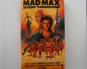 Vintage book Mad Max Beyond Thunderdome Joan D Vinge book 80s