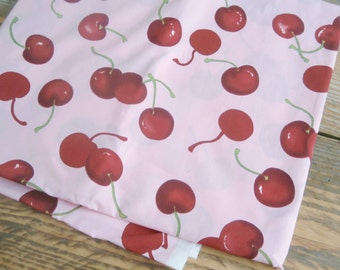 2 Yard Fabric vintage style 50s Cherries pin up chevy rockabilly