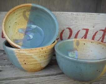 Handmade Pottery Bowl, Stoneware Bowl