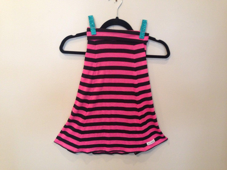 children stripe maxi skirt