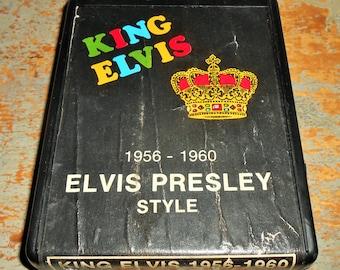 """Elvis Presley, 8 Track Tape, """"Elvis Style"""",  King Elvis, 8 Track Tape Cartridge, Stereo Tape Cartridge, 8 Track, Eight Track"""
