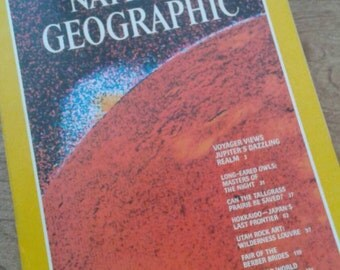 Vintage National Geographic, January 1980, Vol. 157, No. 1, VERY NICE!