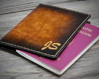 Personalized Passport Cover - Monogram Passport Cover - Leather Passport Cover - Passport Holder - Passport Wallet - Passport Case
