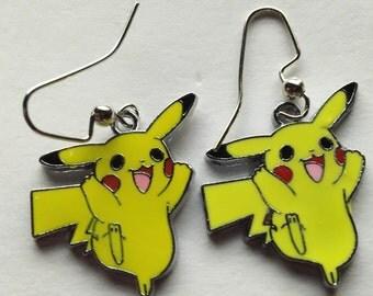 Pikachu Earrings