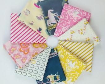 Fantasia Fat Quarter Bundle - Sara Lawson of Sew Sweetness for Art Gallery - 10 FQs - 2.5 Yards Total