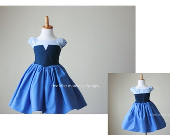 Ariel Dress - Ariel's Blue Dress - Kiss the Girl Dress - Ariel Kiss the Girl - Ariel Costume - Kiss the Girl Costume - Ariel Blue Dress
