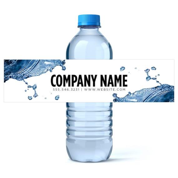 custom water bottle labels water business water labels custom