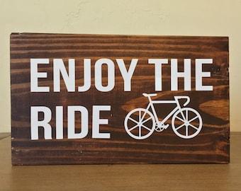 Wood Block Sign
