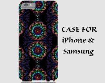 iPhone 6 case iPhone blue case iPhone pattern case 3D geometric case vintage case iPhone 6 plus iPhone 6 case iPhone 5 5s 5c 4S black case