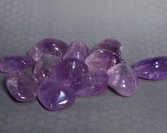 Large Deep Lavender Amethyst Nuggets