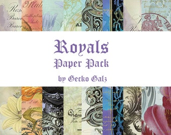 Royals Digital Paper Pack
