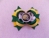 Green Bay Packers Hair Bow
