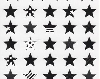 Japan Mind Wave kawaii  Joy STARS sticker sheet/74901