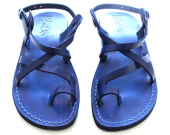 Leather Sandals, Leather Sandals Women, Sandals, Women's Shoes, TEL AVIV, Flip Flops, Biblical Sandals, Jesus Sandals